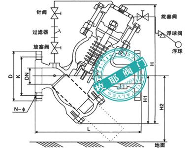 集水坑潜水泵和浮球阀的接线图